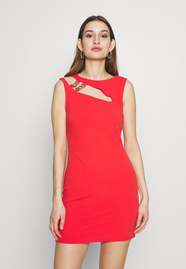 Vestido de tubo - red bright