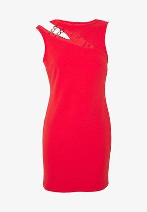 Shift dress - red bright
