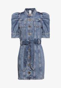 River Island - Sukienka jeansowa - stone blue denim - 0