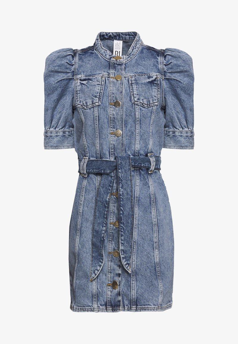 River Island - Sukienka jeansowa - stone blue denim