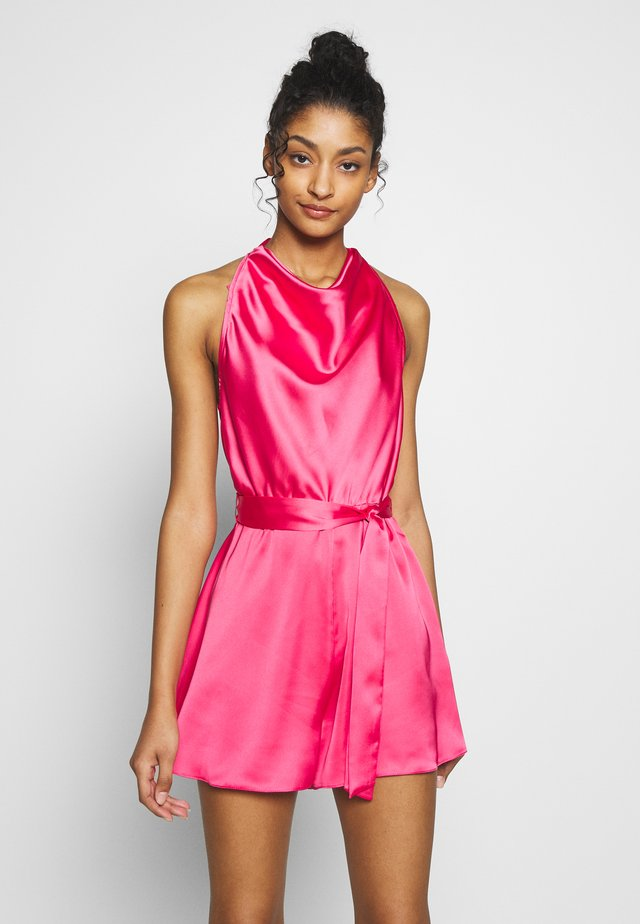 Jumpsuit - pink bright