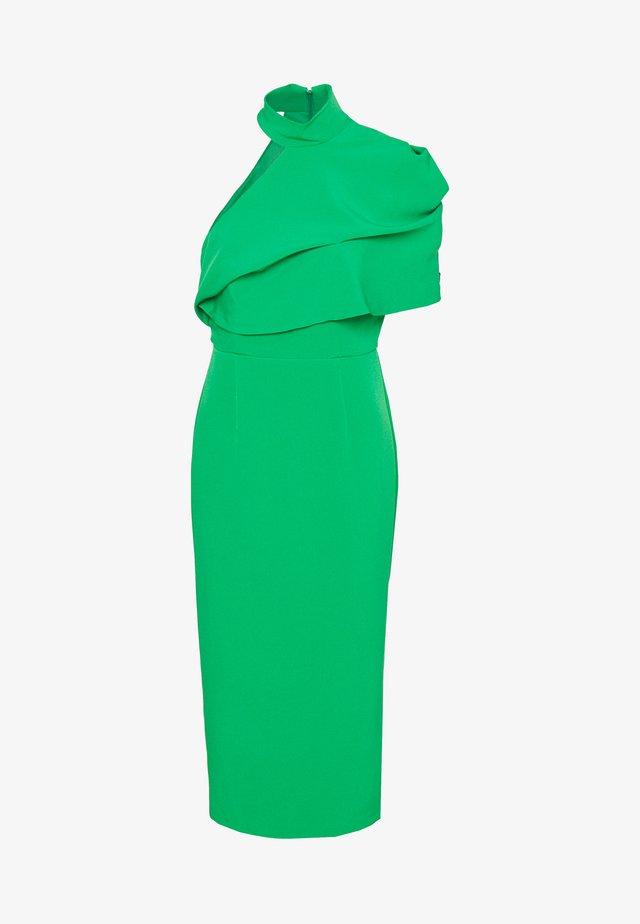 Pouzdrové šaty - green