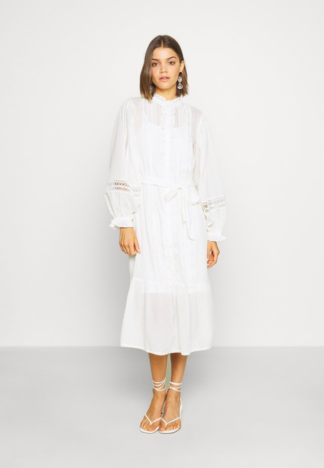 Shirt dress - cream