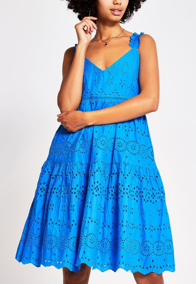 BRODERIE - Vapaa-ajan mekko - blue