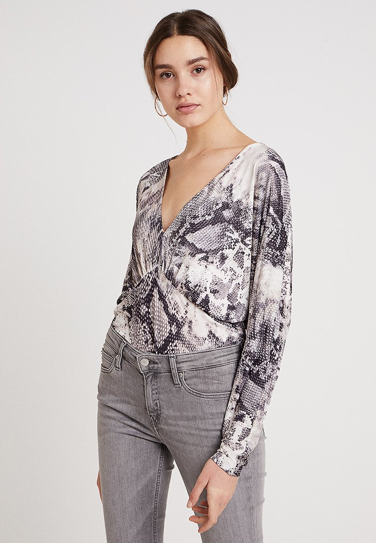 River Island - Long sleeved top - grey