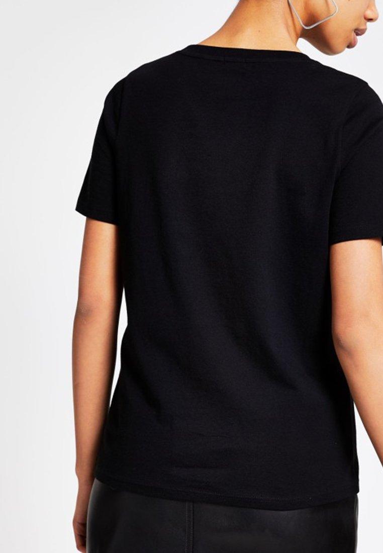 T T Island shirt Island River River ImpriméBlack shirt w0nvm8N