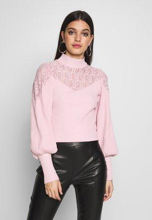 Långärmad tröja - blush