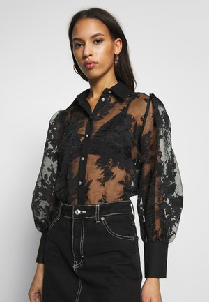 DAISY ORGANZA SHIRT - Chemisier - black