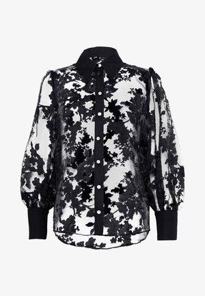 DAISY ORGANZA SHIRT - Camicia - black