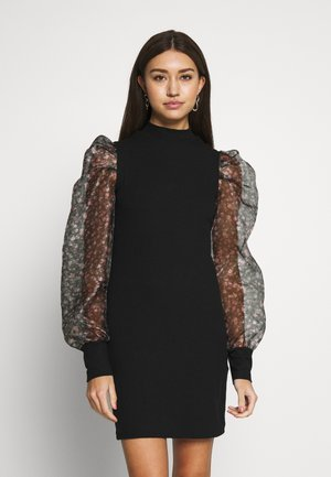 JACK FLORAL DRESS - Robe fourreau - black