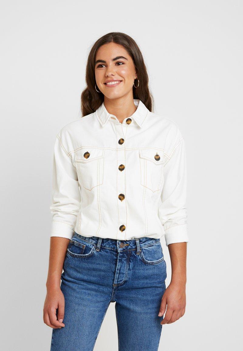 River Island - Button-down blouse - cream