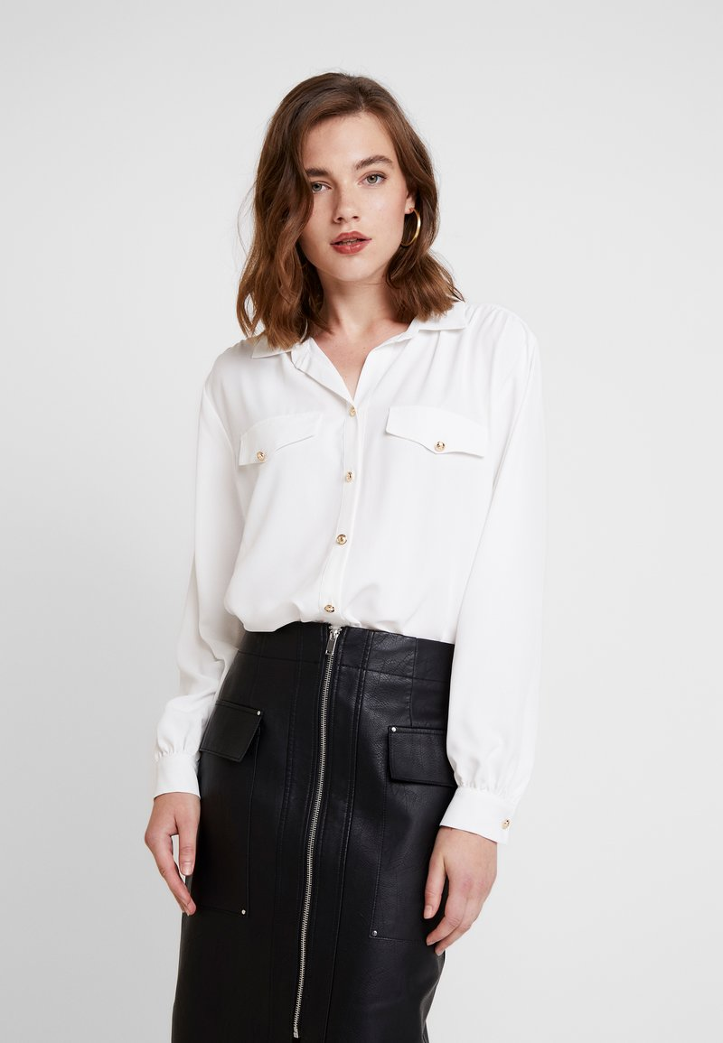 River Island - Button-down blouse - ivory