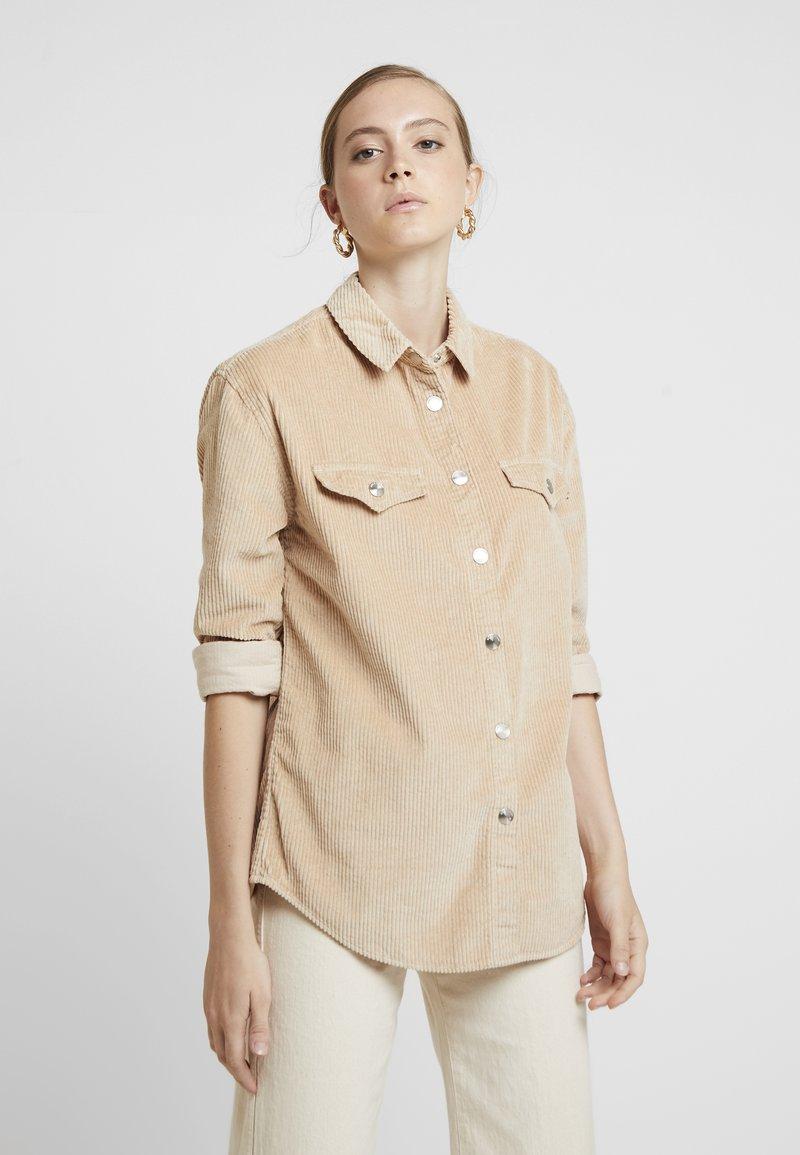 River Island - Button-down blouse - sand