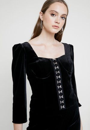 CORSET - Blus - black