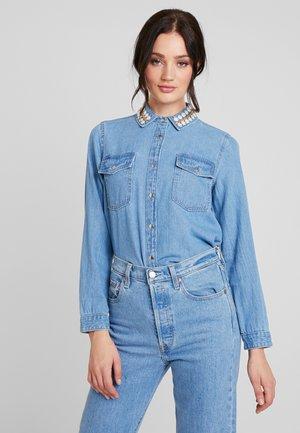 Skjorta - denim blue