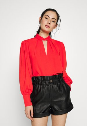 HECTOR TWIST NECK  - Blouse - orange