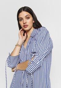 River Island - RICH SHIRT - Button-down blouse - blue - 4