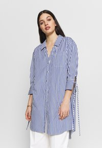 River Island - RICH SHIRT - Button-down blouse - blue - 0