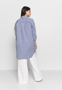River Island - RICH SHIRT - Button-down blouse - blue - 3