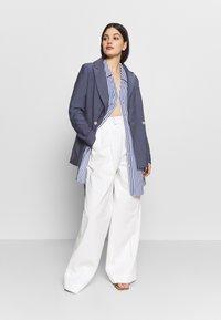 River Island - RICH SHIRT - Button-down blouse - blue - 1