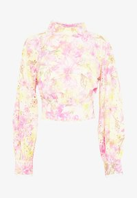 River Island - OPEN BACK PRINTED BLOUSE - Bluser - multi-coloured - 3