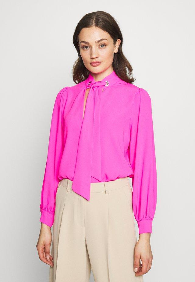 ELI EYELET  - Bluzka - pink
