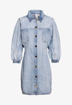 Denimové šaty - light-blue denim