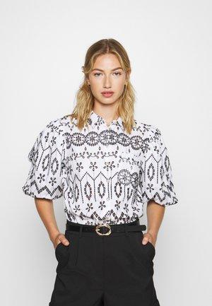 Camicia - black/white