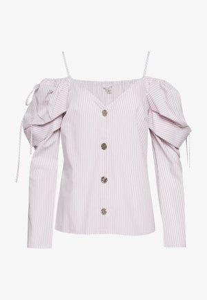POPLIN BARDOT - Bluse - pink