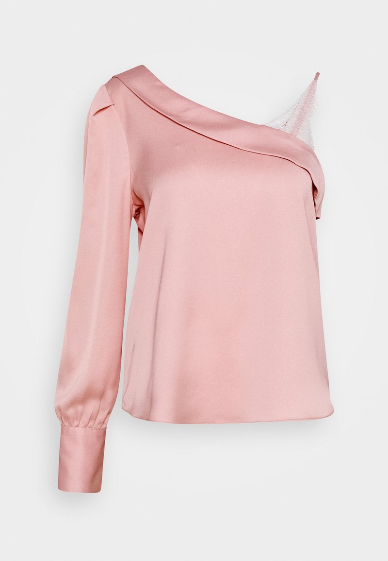 River Island - CHERYL ONE SHOULDER  - Blouse - nude