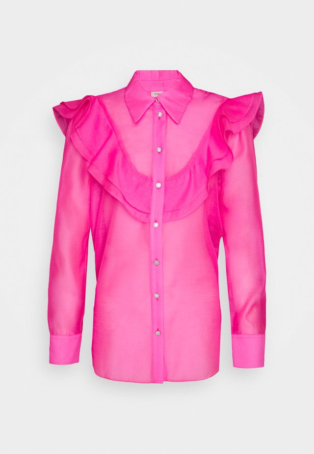 Blouse - pink bright