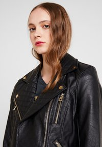 River Island - Faux leather jacket - black - 3