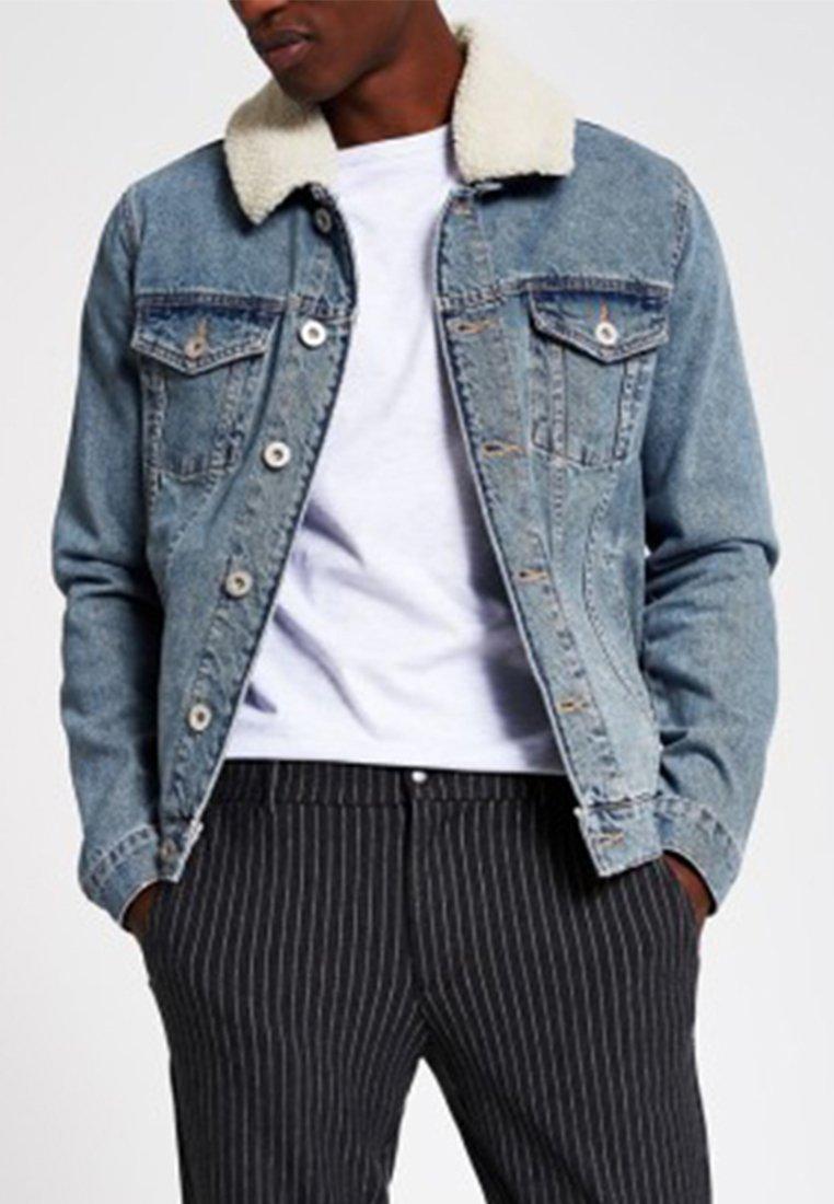 River Island - Denim jacket - blue