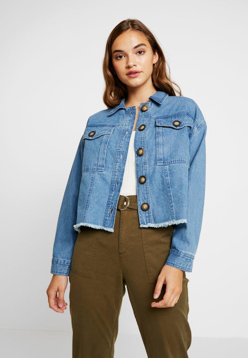River Island - Denim jacket - blue denim
