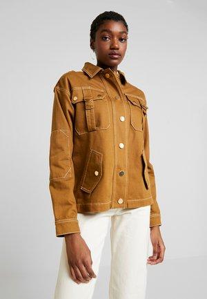 Jeansjakke - brown