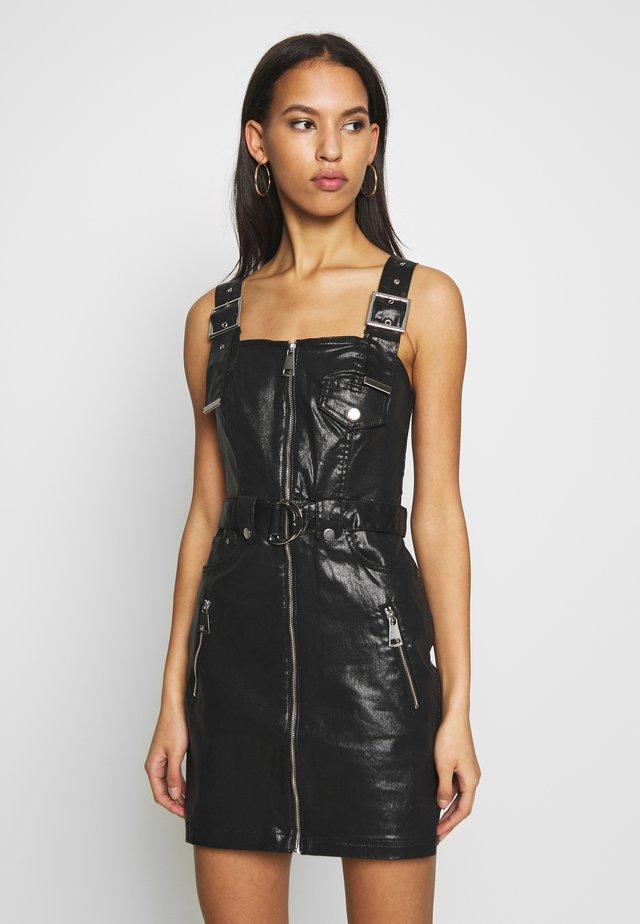 YANA BIKER - Denní šaty - black