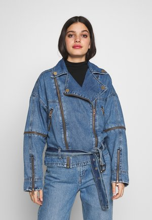 Džínová bunda - denim medium