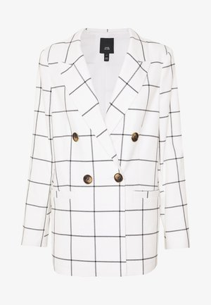 Blazer - cream windowpane