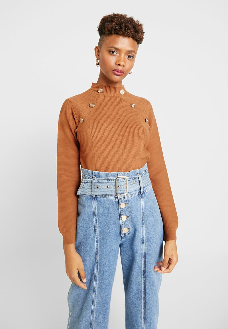 River Island - Strickpullover - toffee