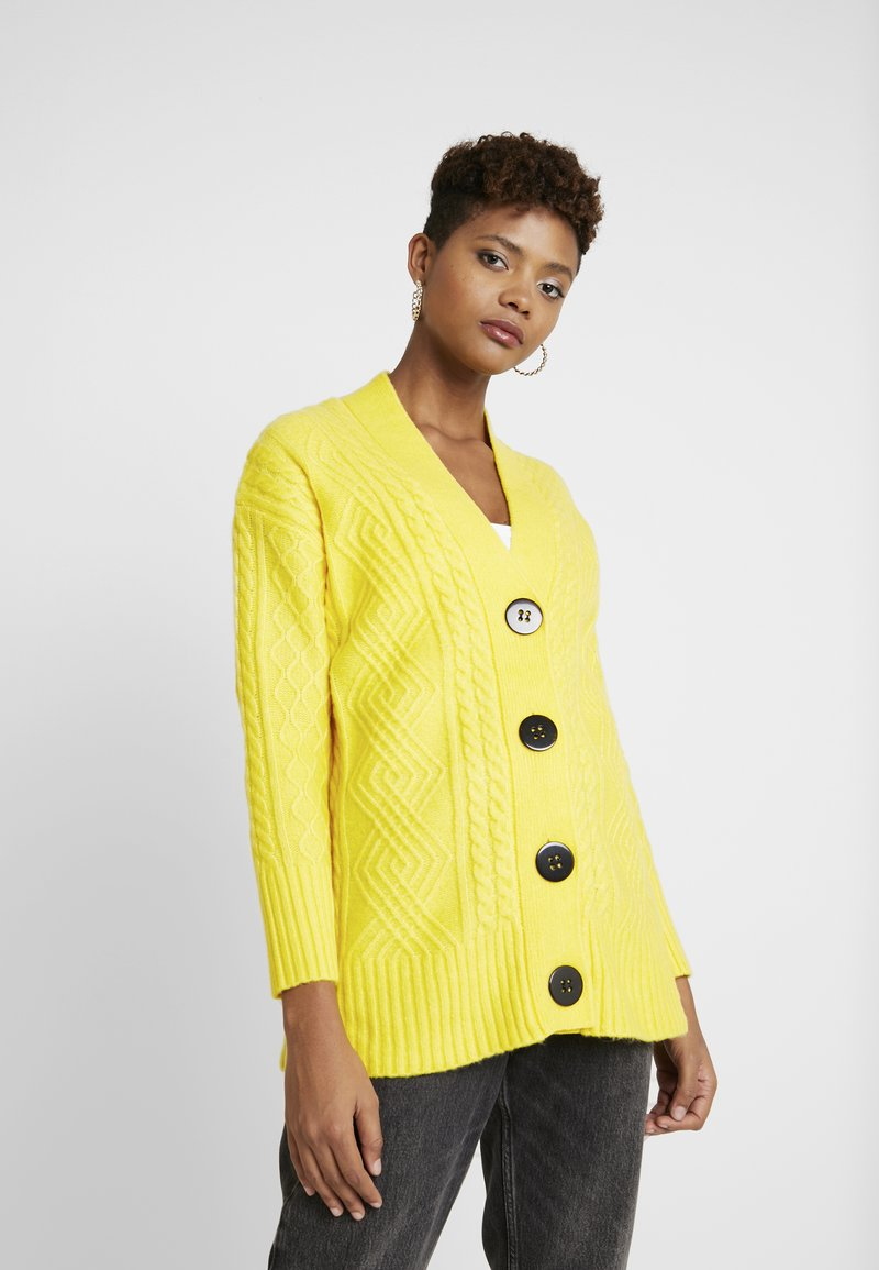 River Island - Cardigan - yellow