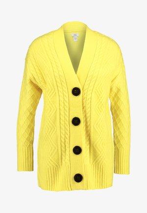 Strikjakke /Cardigans - yellow