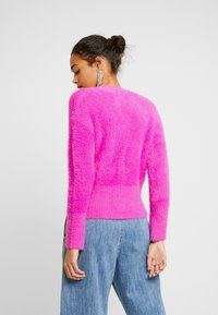 River Island - Strikkegenser - pink bright - 2