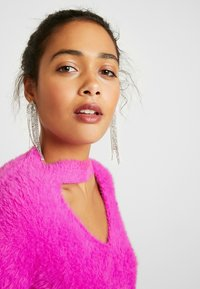 River Island - Strikkegenser - pink bright - 3