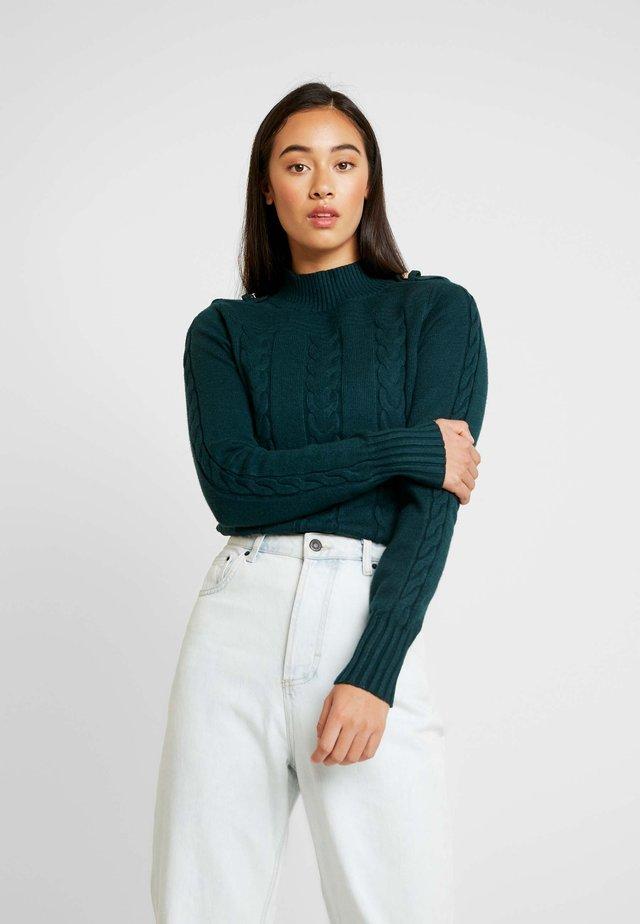 Jersey de punto - green dark