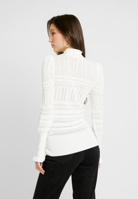 River Island - LUCY STITCH PUFF SLEEVE - Kofta - cream - 2