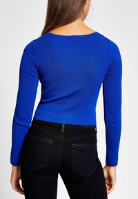 River Island - KEYHOLE  - Pullover - blue - 2