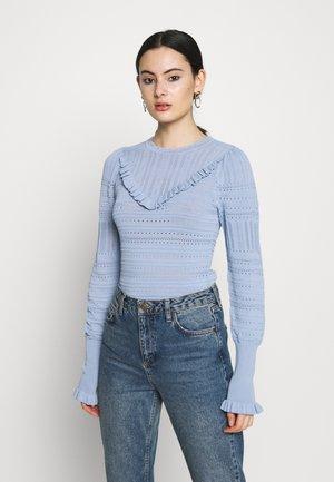 Pullover - blue light