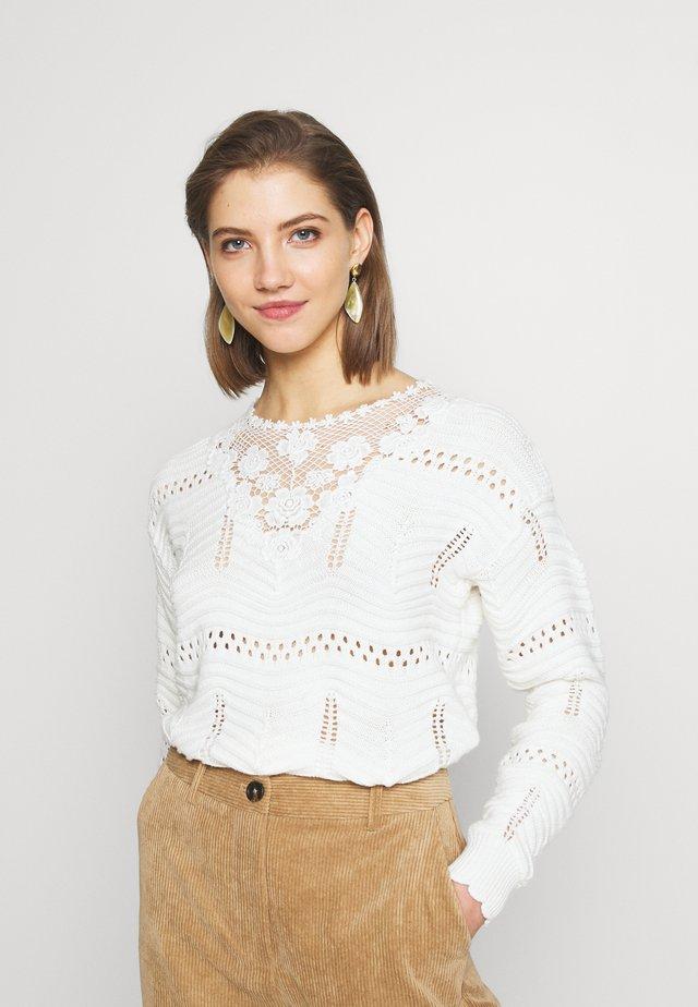 Jersey de punto - cream