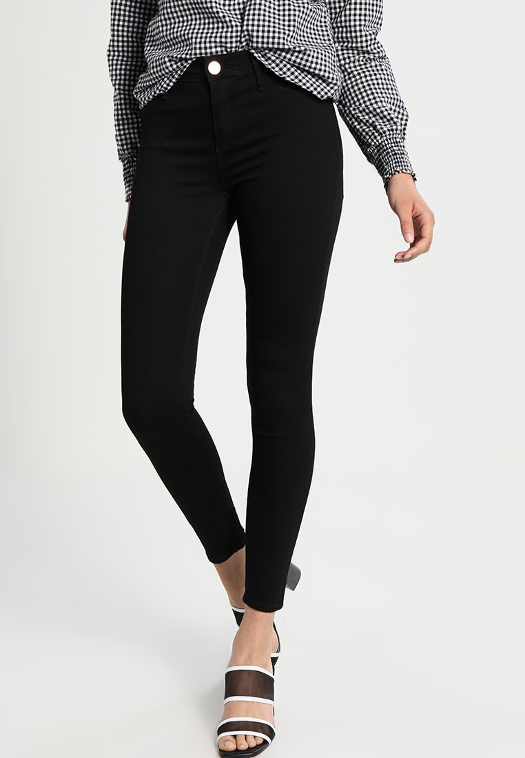 River Island - MOLLY  - Slim fit jeans - black
