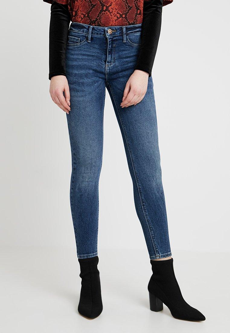 River Island - Jeans Skinny Fit - dark blue denim